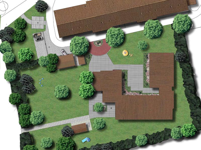 Plan für den Meilshof