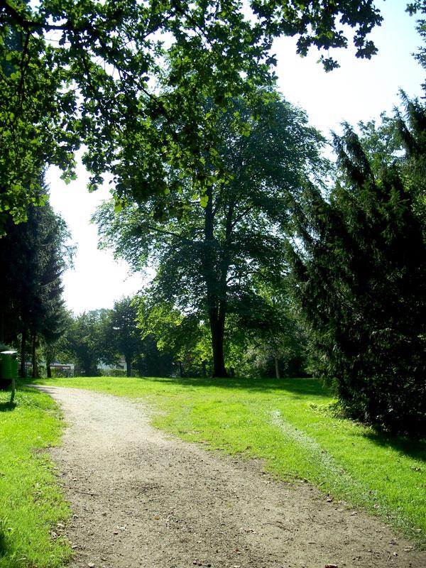 Denkmalpflage für Park