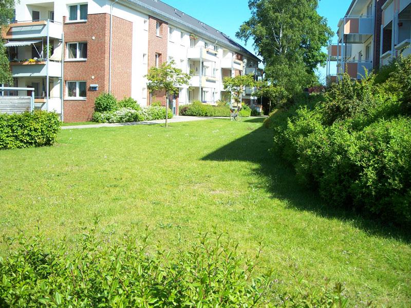 Plan für Außenanlagen