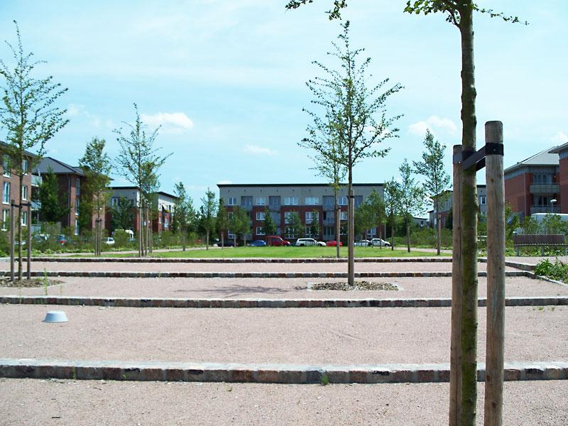 Kraftlinienpark in Hamburg Allermöhe