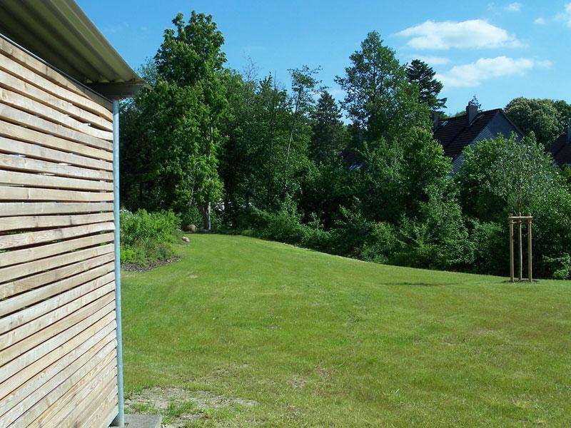 Garten für Wohnhaus