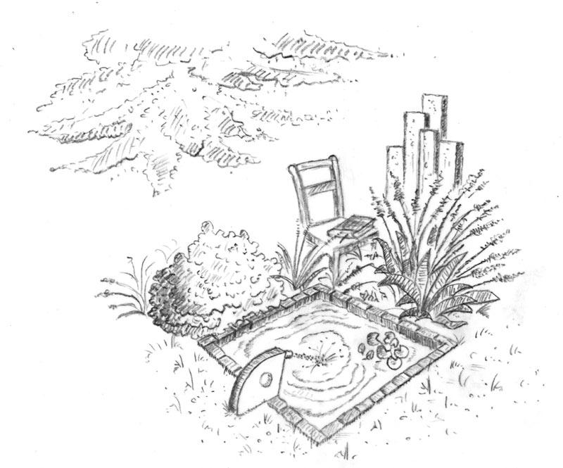 Meditationsgarten