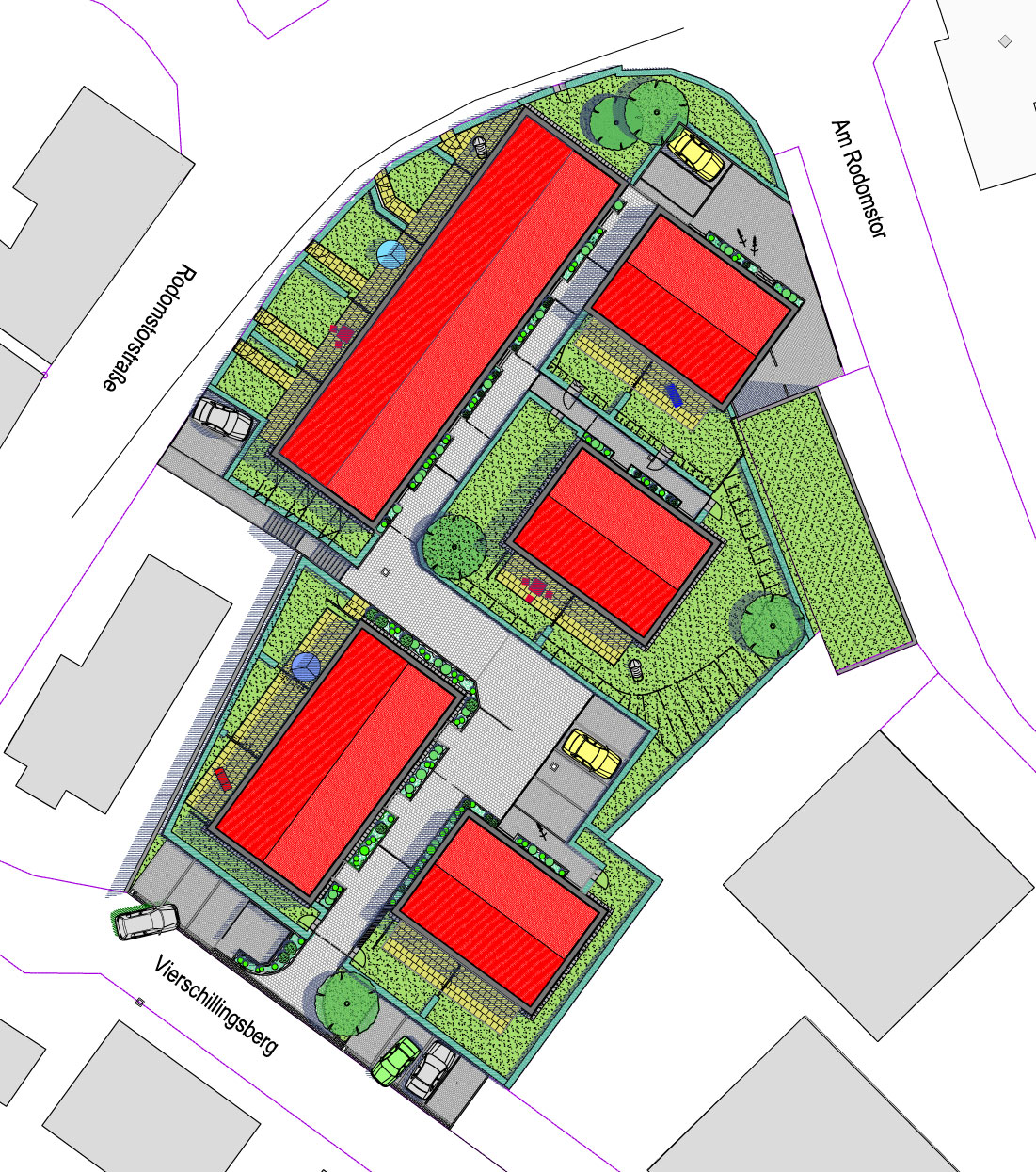 Neubau Einer Wohnsiedlung, Planung Der Infrastruktur