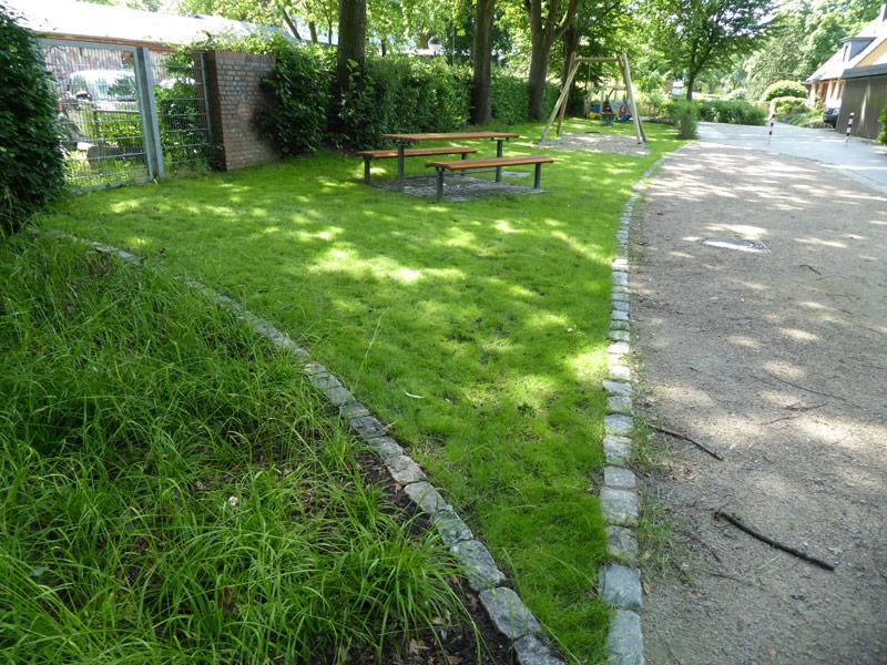 Parkanlage in Hamburg-Lurup
