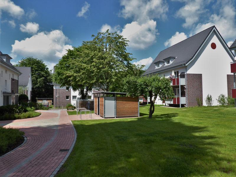 Planung der Freianlage durch Garten- und Landschaftsarchitekt Bellinger in Hamburg