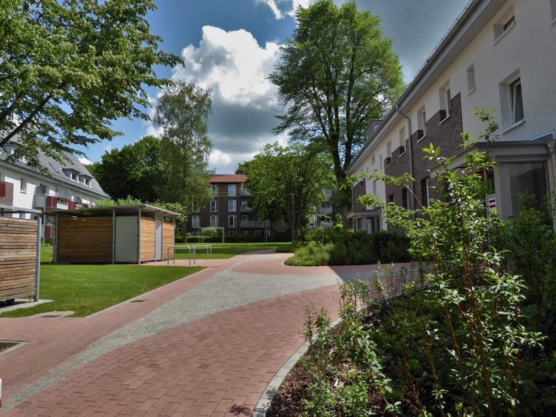 Planung der Freianlage Garten- und Landschaftsarchitekt Bellinger in Hamburg