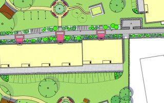 Entwurfsplanung von Freianlagen