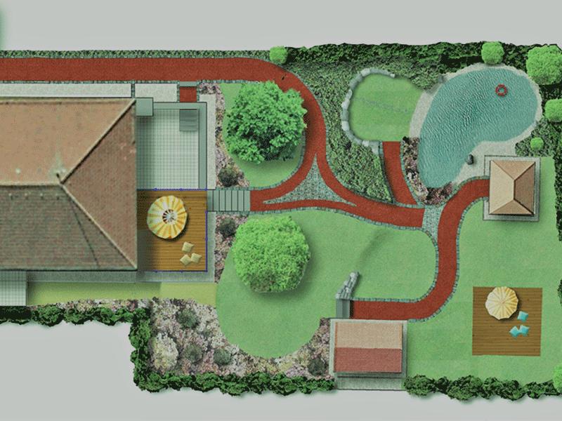 Rollstuhlgerechter Hausgarten in Horn
