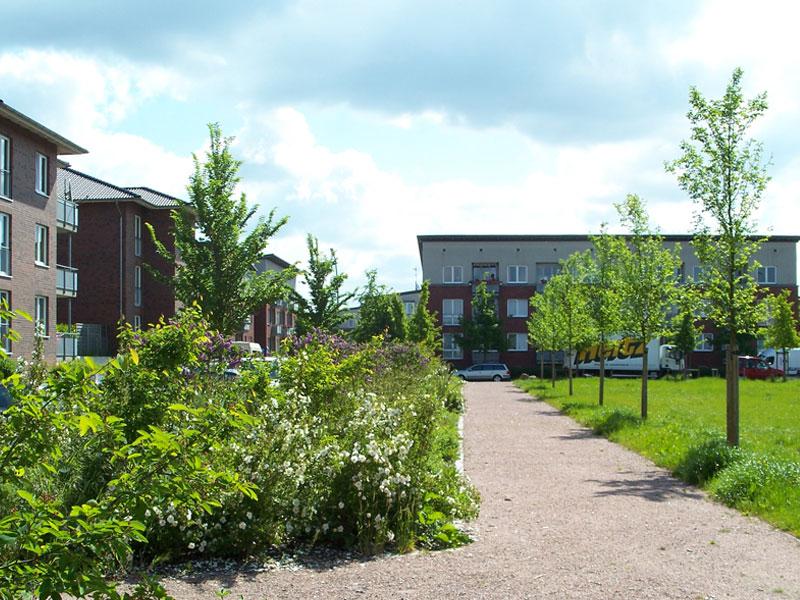 Gestaltung Grünflächen