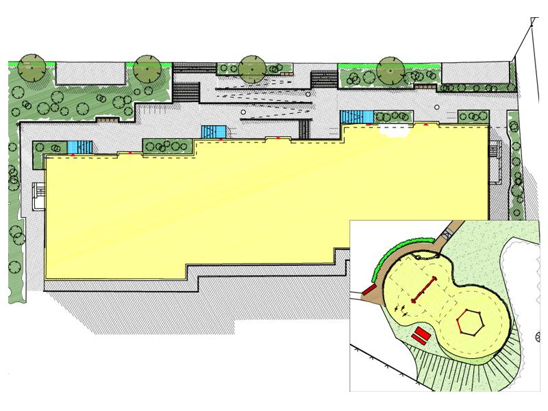 Neues Konzept für barrierefreie Freiraumplanung für Hauszugänge in Haffkrug