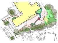 Neugestaltung des Außenraums einer Förderschule in Wedel